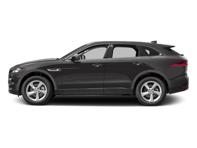 Ammonite Grey Metallic 2017 Jaguar F-PACE Pictures F-PACE 35t Prestige AWD photos side view