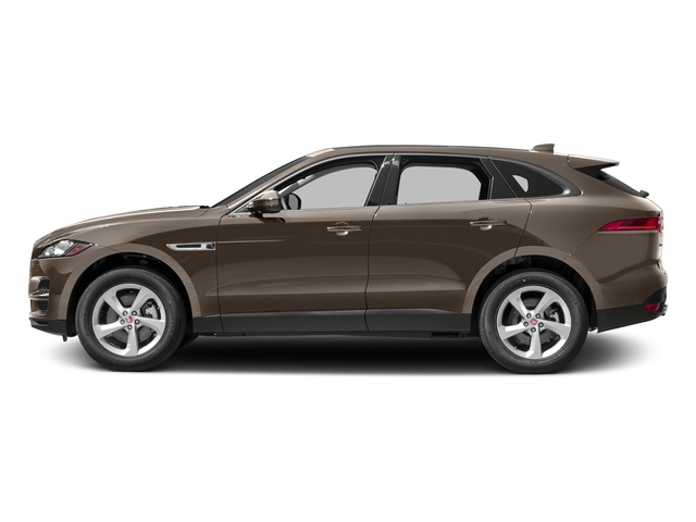 Quartzite Metallic 2017 Jaguar F-PACE Pictures F-PACE 35t Prestige AWD photos side view