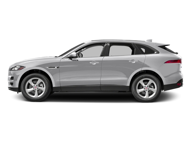 Glacier White Metallic 2017 Jaguar F-PACE Pictures F-PACE 35t Prestige AWD photos side view