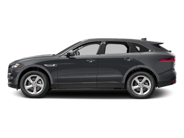 Tempest Grey 2017 Jaguar F-PACE Pictures F-PACE 35t Prestige AWD photos side view