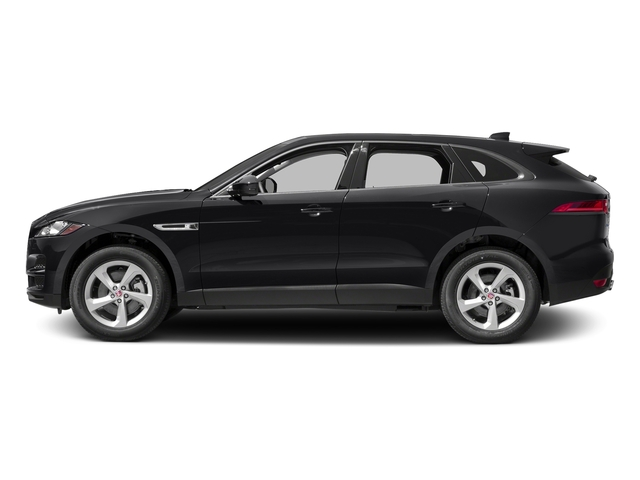 Ebony 2017 Jaguar F-PACE Pictures F-PACE 35t Prestige AWD photos side view