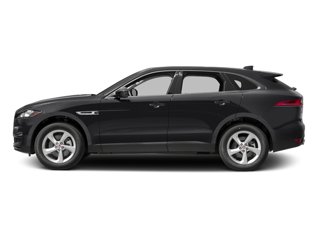 Storm Grey 2017 Jaguar F-PACE Pictures F-PACE 35t Prestige AWD photos side view