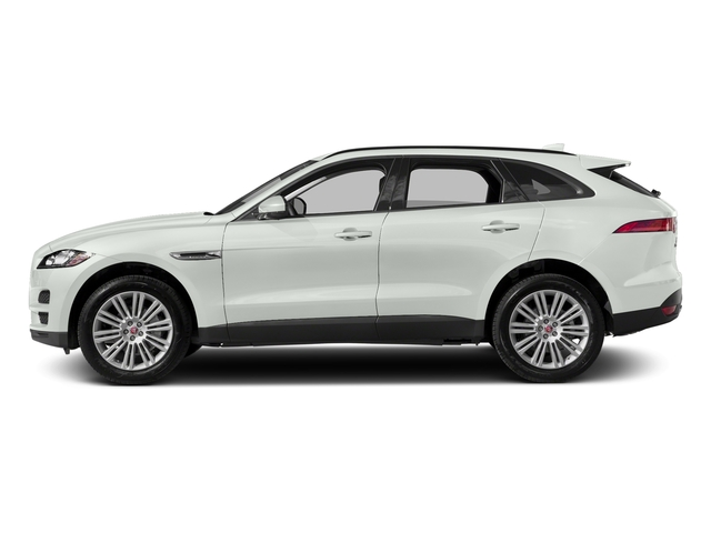 Polaris White 2017 Jaguar F-PACE Pictures F-PACE 20d AWD photos side view