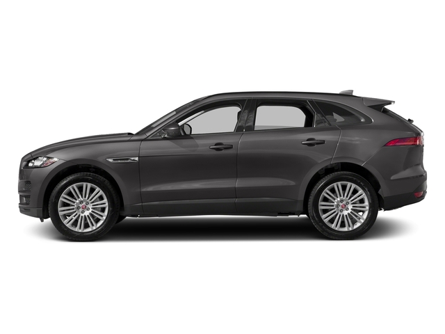 Ammonite Grey Metallic 2017 Jaguar F-PACE Pictures F-PACE 20d Prestige AWD photos side view