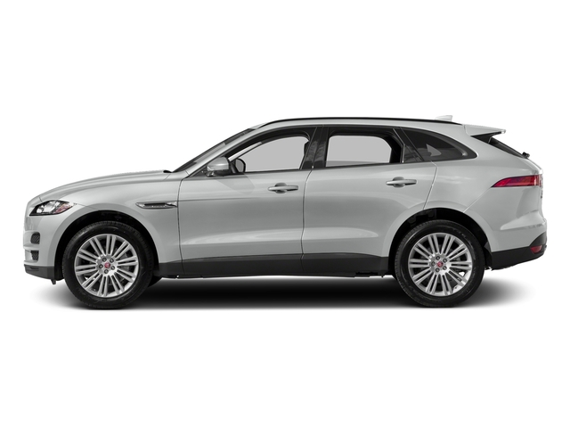 Rhodium Silver Metallic 2017 Jaguar F-PACE Pictures F-PACE 20d Prestige AWD photos side view