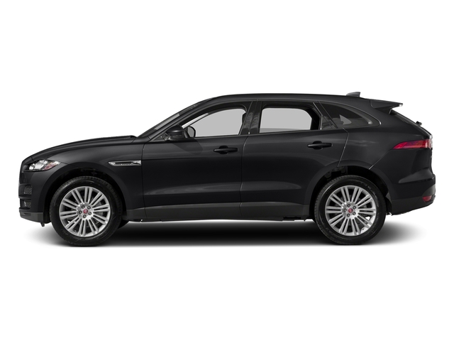 Ebony 2017 Jaguar F-PACE Pictures F-PACE 20d AWD photos side view