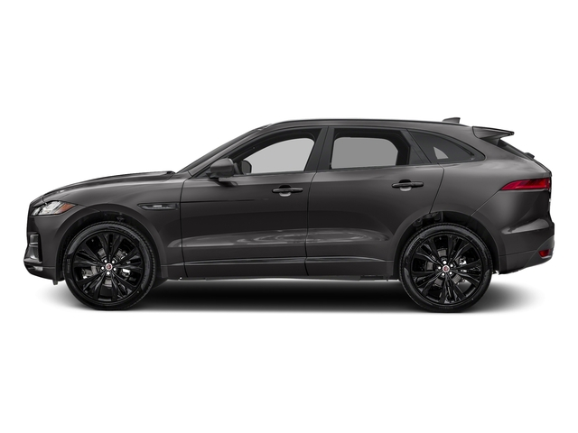 Ammonite Grey Metallic 2017 Jaguar F-PACE Pictures F-PACE 20d R-Sport AWD photos side view