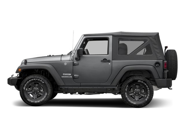 Granite Crystal Metallic Clearcoat 2017 Jeep Wrangler Pictures Wrangler Freedom 4x4 *Ltd Avail* photos side view