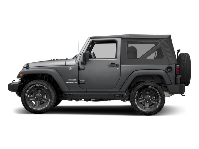 Granite Crystal Metallic Clearcoat 2017 Jeep Wrangler Pictures Wrangler Sport 4x4 photos side view
