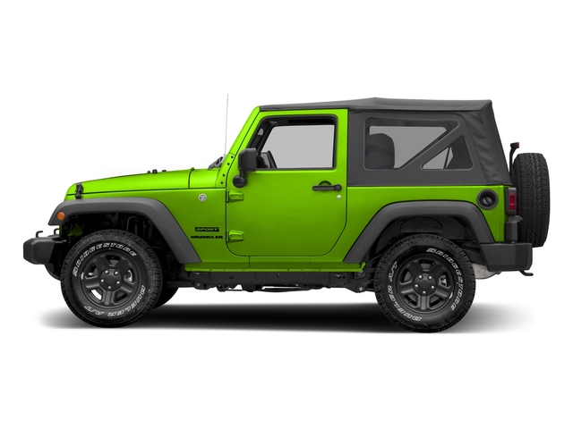 Hypergreen Clearcoat 2017 Jeep Wrangler Pictures Wrangler Sport 4x4 photos side view