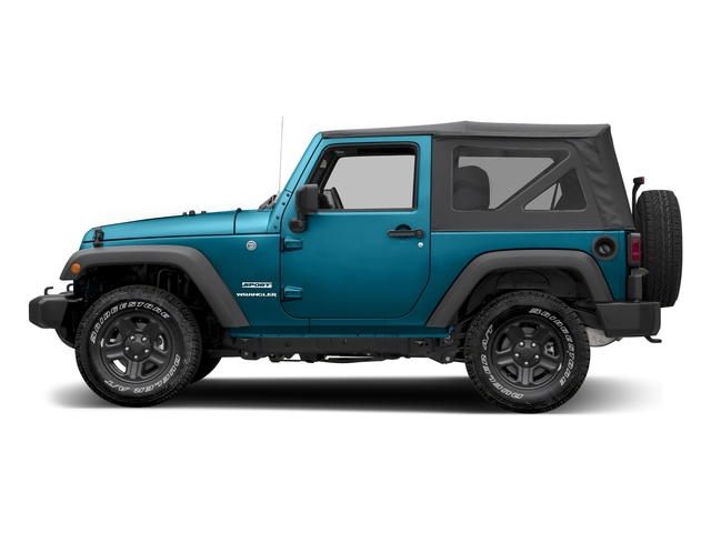 Chief Clearcoat 2017 Jeep Wrangler Pictures Wrangler Sport 4x4 photos side view