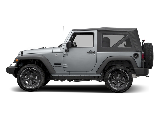 Billet Silver Metallic Clearcoat 2017 Jeep Wrangler Pictures Wrangler Freedom 4x4 *Ltd Avail* photos side view