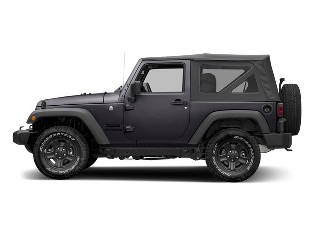 Rhino Clearcoat 2017 Jeep Wrangler Pictures Wrangler Sport 4x4 photos side view
