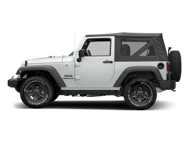 Bright White Clearcoat 2017 Jeep Wrangler Pictures Wrangler Freedom 4x4 *Ltd Avail* photos side view