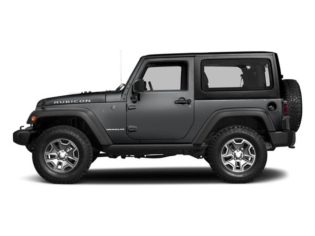 Granite Crystal Metallic Clearcoat 2017 Jeep Wrangler Pictures Wrangler Rubicon 4x4 photos side view