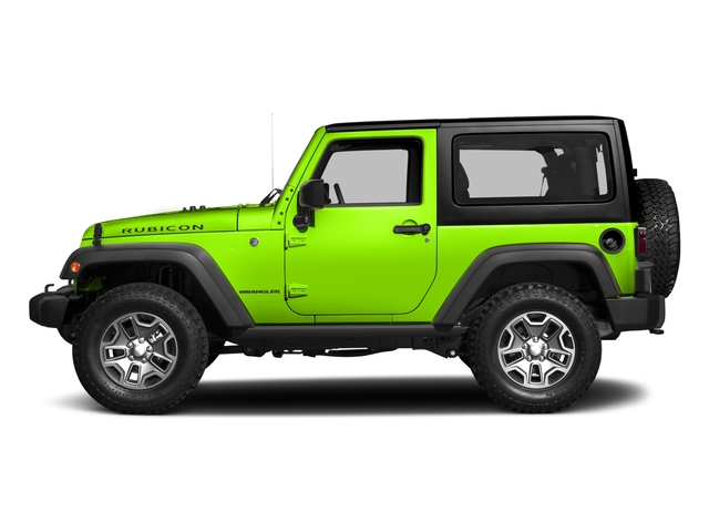Hypergreen Clearcoat 2017 Jeep Wrangler Pictures Wrangler Rubicon 4x4 photos side view