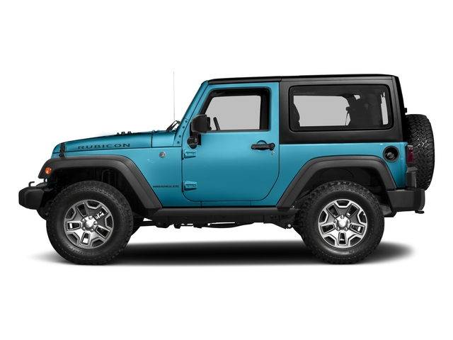 Chief Clearcoat 2017 Jeep Wrangler Pictures Wrangler Rubicon 4x4 photos side view