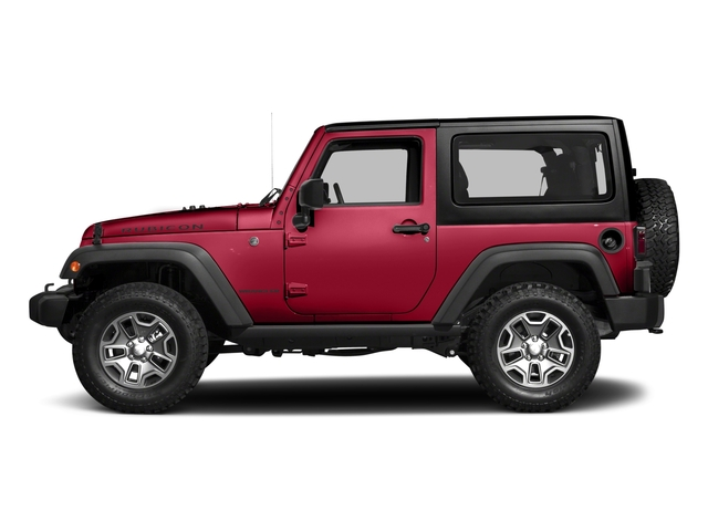 Firecracker Red Clearcoat 2017 Jeep Wrangler Pictures Wrangler Rubicon 4x4 photos side view