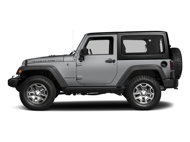 Billet Silver Metallic Clearcoat 2017 Jeep Wrangler Pictures Wrangler Rubicon 4x4 photos side view