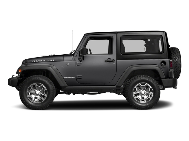 Black Clearcoat 2017 Jeep Wrangler Pictures Wrangler Rubicon 4x4 photos side view