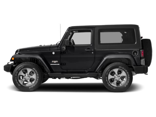 Black Clearcoat 2017 Jeep Wrangler Pictures Wrangler 75th Anniversary 4x4 *Ltd Avail* photos side view