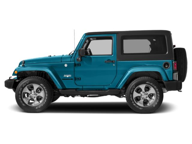Chief Clearcoat 2017 Jeep Wrangler Pictures Wrangler Utility 2D Sahara 4WD V6 photos side view