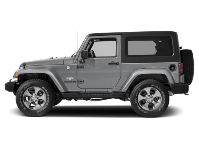 Billet Silver Metallic Clearcoat 2017 Jeep Wrangler Pictures Wrangler 75th Anniversary 4x4 *Ltd Avail* photos side view