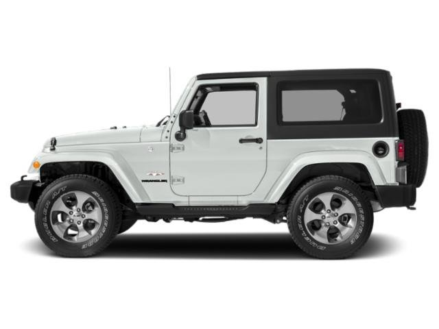 Bright White Clearcoat 2017 Jeep Wrangler Pictures Wrangler 75th Anniversary 4x4 *Ltd Avail* photos side view