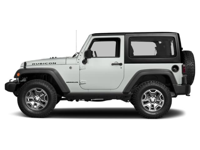 Bright White Clearcoat 2017 Jeep Wrangler Pictures Wrangler Utility 2D Rubicon 4WD V6 photos side view