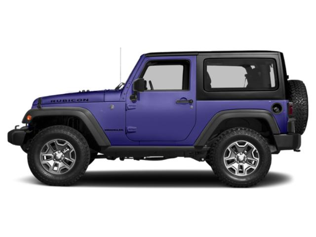 Xtreme Purple Pearlcoat 2017 Jeep Wrangler Pictures Wrangler Utility 2D Rubicon 4WD V6 photos side view