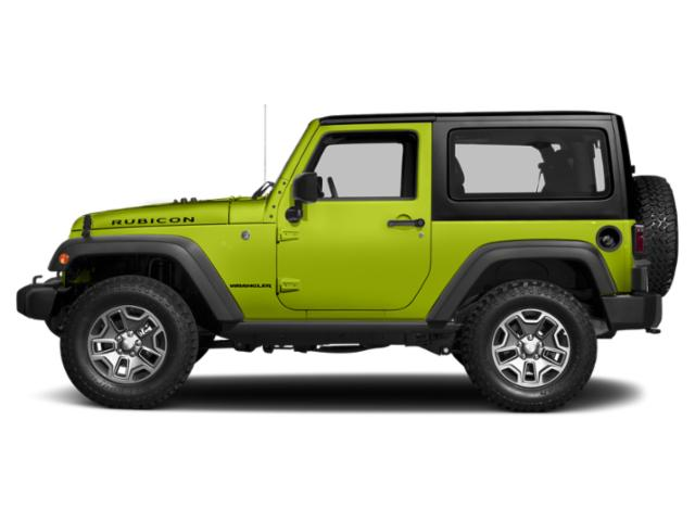 Hypergreen Clearcoat 2017 Jeep Wrangler Pictures Wrangler Utility 2D Rubicon 4WD V6 photos side view