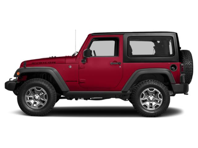 Firecracker Red Clearcoat 2017 Jeep Wrangler Pictures Wrangler Utility 2D Rubicon 4WD V6 photos side view