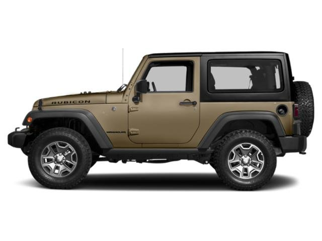 Gobi Clearcoat 2017 Jeep Wrangler Pictures Wrangler Utility 2D Rubicon 4WD V6 photos side view