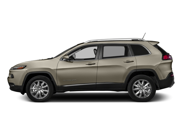 Light Brownstone Pearlcoat 2017 Jeep Cherokee Pictures Cherokee Utility 4D Limited 2WD photos side view