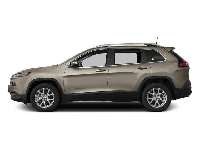Light Brownstone Pearlcoat 2017 Jeep Cherokee Pictures Cherokee Utility 4D Latitude 2WD photos side view