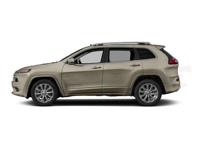 Light Brownstone Pearlcoat 2017 Jeep Cherokee Pictures Cherokee Utility 4D Overland 2WD photos side view
