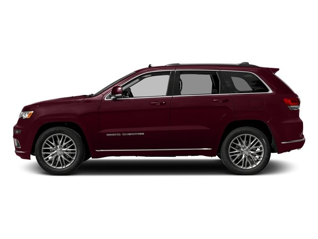 Velvet Red Pearlcoat 2017 Jeep Grand Cherokee Pictures Grand Cherokee Summit 4x2 photos side view