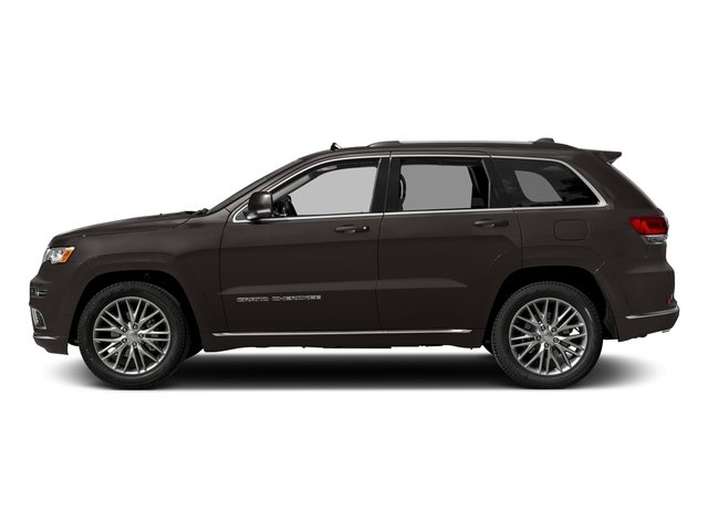 Walnut Brown Metallic Clearcoat 2017 Jeep Grand Cherokee Pictures Grand Cherokee Summit 4x2 photos side view