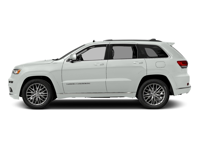 Bright White Clearcoat 2017 Jeep Grand Cherokee Pictures Grand Cherokee Utility 4D Summit 4WD T-Dsl photos side view