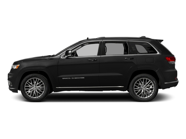 Diamond Black Crystal Pearlcoat 2017 Jeep Grand Cherokee Pictures Grand Cherokee Utility 4D Summit 4WD T-Dsl photos side view