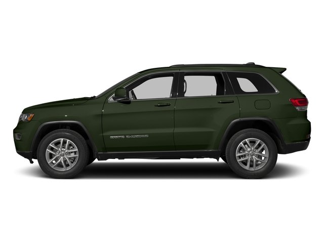 Recon Green Clearcoat 2017 Jeep Grand Cherokee Pictures Grand Cherokee 75th Anniversary Edition 4x2 *Ltd Avail* photos side view