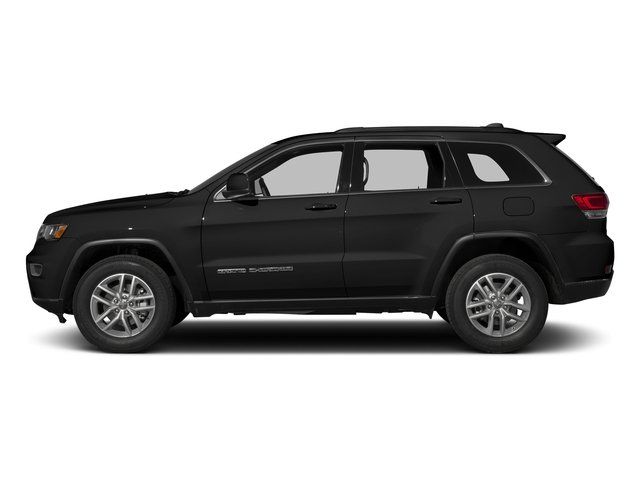 Diamond Black Crystal Pearlcoat 2017 Jeep Grand Cherokee Pictures Grand Cherokee Utility 4D Laredo 4WD photos side view