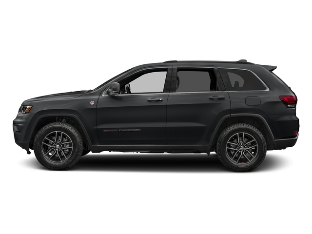 Granite Crystal Metallic Clearcoat 2017 Jeep Grand Cherokee Pictures Grand Cherokee Utility 4D Trailhawk 4WD photos side view