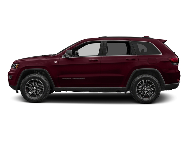 Velvet Red Pearlcoat 2017 Jeep Grand Cherokee Pictures Grand Cherokee Utility 4D Trailhawk 4WD photos side view