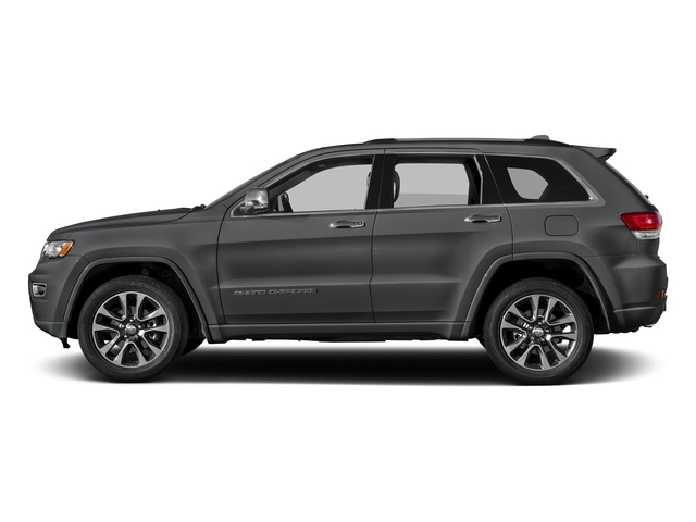 Granite Crystal Metallic Clearcoat 2017 Jeep Grand Cherokee Pictures Grand Cherokee Utility 4D Overland 4WD T-Dsl photos side view