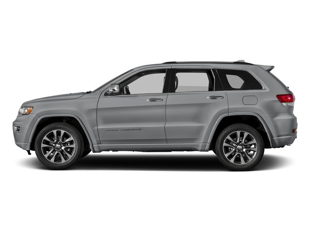 Billet Silver Metallic Clearcoat 2017 Jeep Grand Cherokee Pictures Grand Cherokee Utility 4D Overland 4WD T-Dsl photos side view