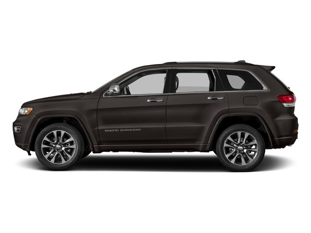 Walnut Brown Metallic Clearcoat 2017 Jeep Grand Cherokee Pictures Grand Cherokee Utility 4D Overland 2WD photos side view