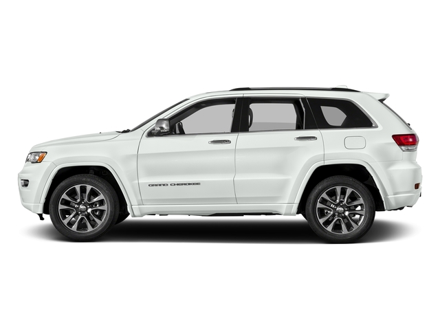 Bright White Clearcoat 2017 Jeep Grand Cherokee Pictures Grand Cherokee Utility 4D Overland 2WD photos side view