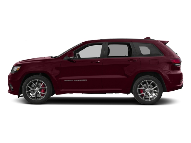 Velvet Red Pearlcoat 2017 Jeep Grand Cherokee Pictures Grand Cherokee SRT 4x4 photos side view