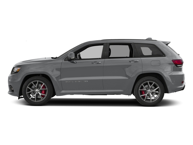 Billet Silver Metallic Clearcoat 2017 Jeep Grand Cherokee Pictures Grand Cherokee SRT 4x4 photos side view